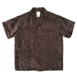 Visvim Irving Shirt S/S Zeal Black