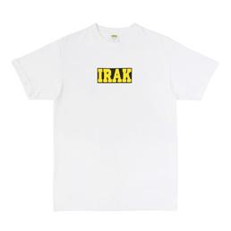 IRAK Logo Tee White