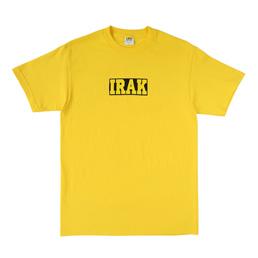 IRAK Logo Tee Irak Yellow