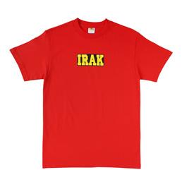 IRAK Logo Tee Team Red