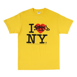 IRAK NY Tee Irak Yellow