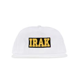 IRAK Logo Snapback White