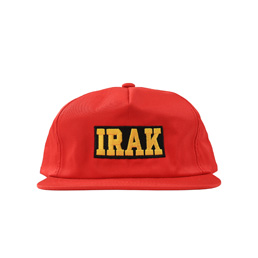 IRAK Logo Snapback Red