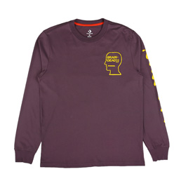 Converse x Braindead LS T-Shirt - Dusk Purple