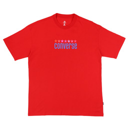 Converse x ASAP NAST Vintage WRDMK  T-Shirt - Red