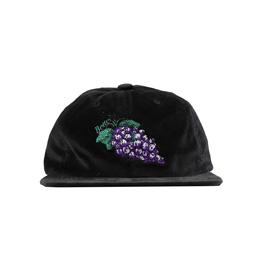 Better Grape Velvet Cap Black