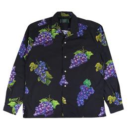 Better Grape Gitman Button Up Black
