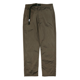 Better Metallic Nylon Pant Forest Green