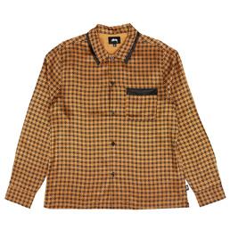 Stussy Geo Satin LS Shirt