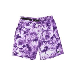 Stussy Bleach Nylon Mountain Short - Purple