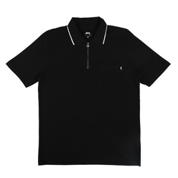 Stussy Lion Zip Pocket Polo