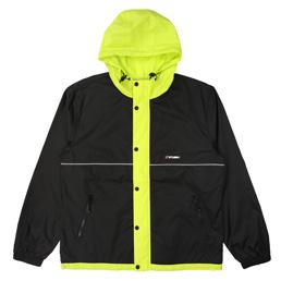 Stussy Honeycomb Hooded Jacket- Black