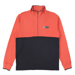 Stussy Two Tone Mock Neck - Coral