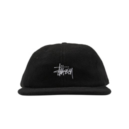 Stussy Polar Fleece Strap Back Cap