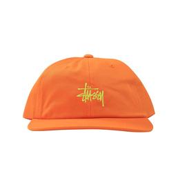 Stussy SP19 Stock Low Pro Cap - Orange