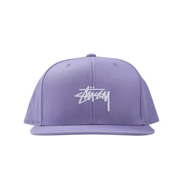 Stussy SP19 Stock Cap - Lavender