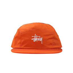 Stussy Basic Stock Camp Cap - Orange