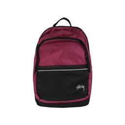 Stussy Diamond Ripstop Backpack - Berry