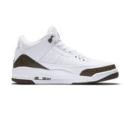 Air Jordan 3 Retro - White Dark Mocha-Chrome