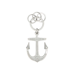 Neighborhood Anchor B-Key Hook Silver