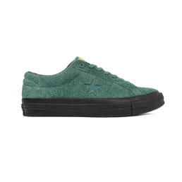 Converse One Star '74 x Stussy Icons-Hunter Green