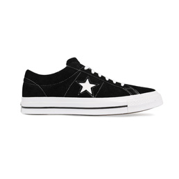 Converse One Star Premium Suede Low - Black/White