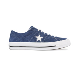 Converse One Star Premium Suede Low - Navy/White