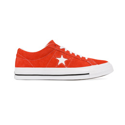 Converse One Star Premium Suede Low - Red/White