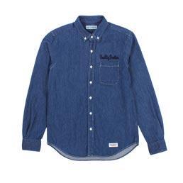 Wacko Maria Denim B.D Shirt Indigo