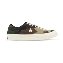 Converse + SNS One Star Low - canteen/Black