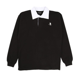 Passport Workers Polo Jersey Black