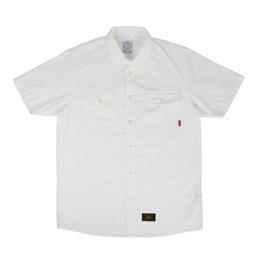 WTAPS Officer SS Shirt White