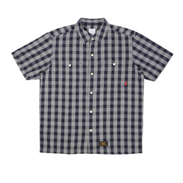 WTAPS Union SS02 Shirt Navy Check