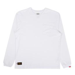 WTAPS Blank LS T-Shirt White
