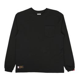 WTAPS Blank LS T-Shirt Black