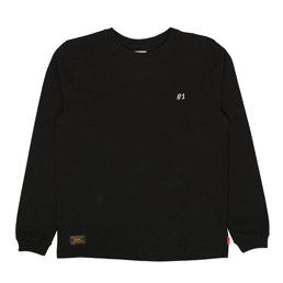 WTAPS Design LS Tee Black