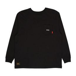 WTAPS Design L/S 02 T-Shirt Black