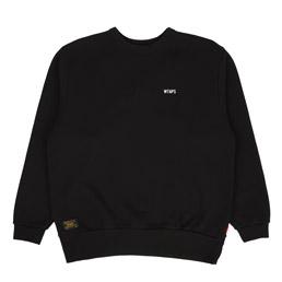 WTAPS Design Crewneck Sweatshirt Black