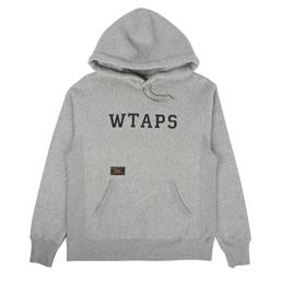 WTAPS Design Hooded Sweatshirt Grey
