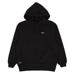 WTAPS Design Hood 03 Sweatshirt Black