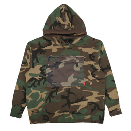 WTAPS UDT Hooded Sweatshirt Woodland