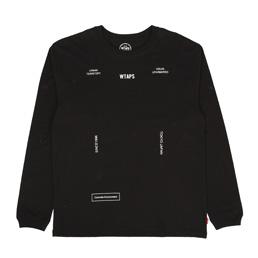 WTAPS Form T-Shirt Black