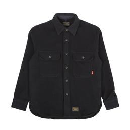 WTAPS CPO LS Shirt Navy