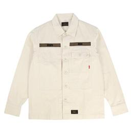 WTAPS HBT LS01 Shirt Off White