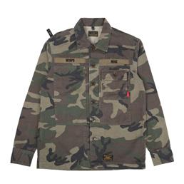 WTAPS HBT LS 02 Shirt Woodland