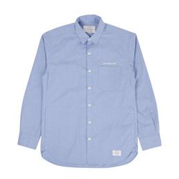 NH Classic White C-Shirt LS Blue