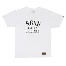 NBHD Original C-Tee SS White