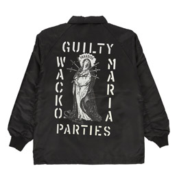 Wacko Maria Boa Coach Jacket Type 7 Black