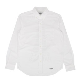 Wacko Maria Oxford B.D Shirt Type 3 White