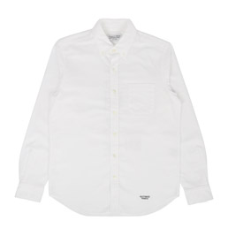 Wacko Maria Oxford B.D Shirt Type 5 White